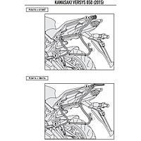 KAPPA KLX4114 KAWASAKI VERSYS 650 (15-20) YAN ÇANTA TAÞIYICI