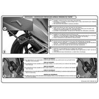 KAPPA KLR6401 TRIUMPH TIGER 800 (11-17) YAN ÇANTA TAÞIYICI