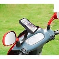 """Motosiklet Telefon Tutucu Kapalý Model Scooter Ýçin (Büyük - 6"""")"""