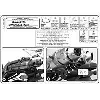 GIVI 351KIT YAMAHA FZ6-S2- FAZER 600 -  (04-11) YAN ÇANTA TAÞIYICI KIT