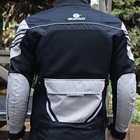 Scoyco JK36 Gri Siyah Yazlýk Fileli Motosiklet Montu