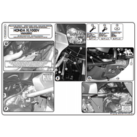 KAPPA KN454 HONDA XL 1000V VARADERO - ABS (07-12) KORUMA DEMÝRÝ