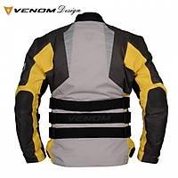 Venom Tourex Touring Motosiklet Montu Gri Sarý