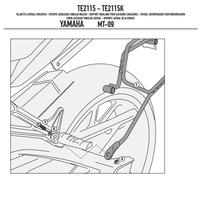 GIVI TE2115 YAMAHA MT-09 (13-16) YAN KUMAÞ ÇANTA TAÞIYICI