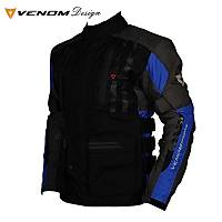 Venom Tourex Touring Motosiklet Montu Siyah-Mavi