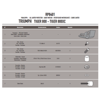 GIVI RP6401 TRIUMPH TIGER 800 - TIGER 800 XC (11-16) KARTER KORUMA