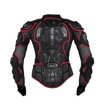 VEXO  Body Armor Fileli Yazlýk Full Koruma KIRMIZI
