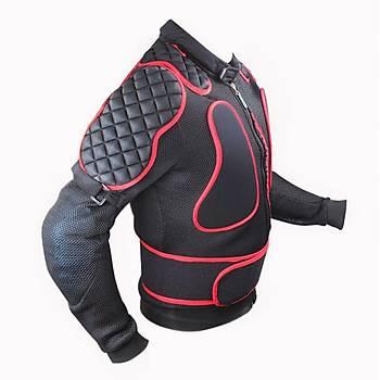 Yazlýk / Baharlýk Motosiklet Montu- Soft Full Koruma