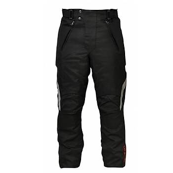 Vexo Humurgan 4 Mevsim Motosiklet Pantolonu Siyah