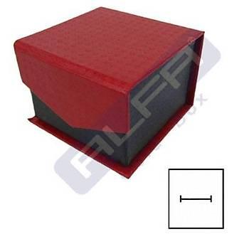 Karton Mýknatýslý Yüzük Kutusu