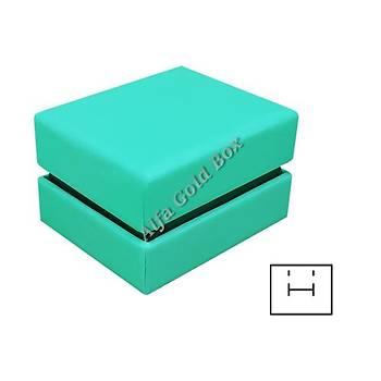 Yüzük & Küpe Kutusu - Karton Kamelya Çift Kapak Seri