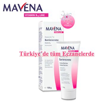 Mavena B12 AD Bariyer Krem 100gr.Türkiye geneli tüm eczanelerde. Bigi için eczanenize veya doktorunuza başvurun