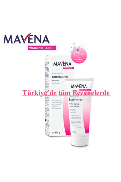 Mavena B12 AD Bariyer Krem 100gr.Türkiye geneli tüm eczanelerde. Bigi için eczanenize veya doktorunuza baþvurun