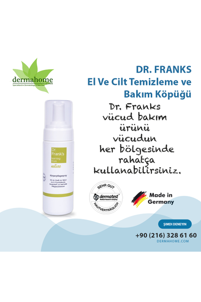 Dr Franks Genel Vücut Bakým Köpüðü