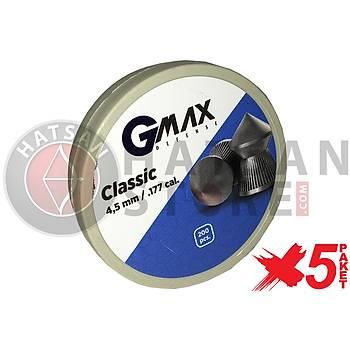 GMax Defense Classic 4,5 mm 5 Paket Havalý Tüfek Saçmasý (500 Adet)