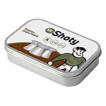 Mr.Shoty Premium Match 4,5 mm Havalý Tüfek Saçmasý (450 Adet)