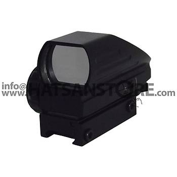 Bijia 1x22x33 Hedef Noktalayýcý 22 mm Red Dot Sight