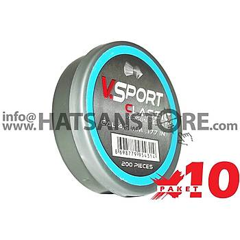 Victory Sport Classic 4,5 mm 10 Paket Havalý Tüfek Saçmasý