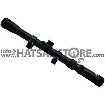Optima 3-7x20 Tüfek Dürbünü