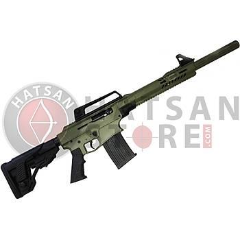Hatsan Escort DF 12 Tactical Full Metal Cerakote Green Otomatik Av Tüfeði