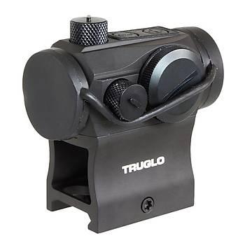 Truglo TRU-TEC 20 mm Weaver Hedef Noktalayýcý Red Dot Sight