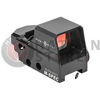 Sightmark Ultra Shot M-Spec FMS Reflex Sight Weaver Hedef Noktalayýcý Red Dot Sight