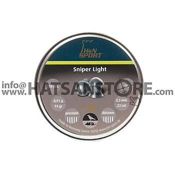 H&N Sniper Light 5,5 mm Havalý Tüfek Saçmasý (14,00 Grain - 250 Adet)
