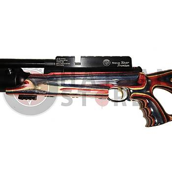 Hatsan NOVA STAR PREMIUM LW QE PCP Havalý Tüfek (Red-White)