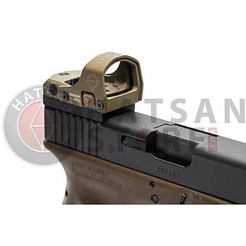 Sightmark Mini Shot M-Spec FMS Reflex Sight Weaver Hedef Noktalayýcý Red Dot Sight (FDE)