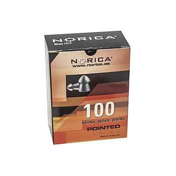 Norica Pointed 5,5 mm Havalý Tüfek Saçmasý (100 Adet)