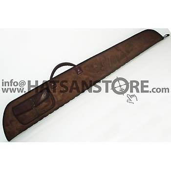 HunterLand Açýk Kahverengi Yandan Çantalý Süet Tüfek Kýlýfý