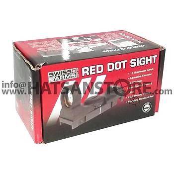 Swiss Arms Tactical Hedef Noktalayýcý 22 mm Red Dot Sight