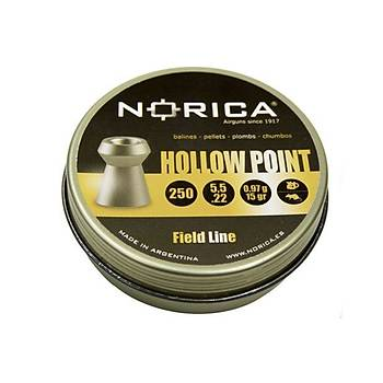Norica Hollow Point 5,5 mm Havalý Tüfek Saçmasý (250 Adet)