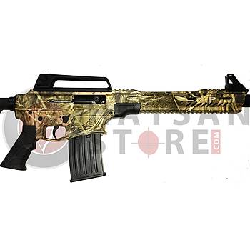 Hatsan Escort DF 12 Tactical Full Metal Camo MAX4HD Otomatik Av Tüfeði