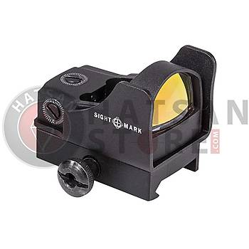 Sightmark Mini Shot Pro-Spec Reflex Sight Weaver Hedef Noktalayýcý Red Dot Sight (Red Dot)