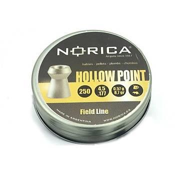 Norica Hollow Point 4,5 mm Havalý Tüfek Saçmasý (250 Adet)