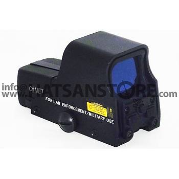 Comet 551 Graphic Sight 22 mm Red Dot Sight