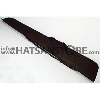 HunterLand Koyu Kahverengi Standart Süet Tüfek Kýlýfý