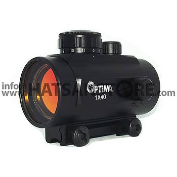 Optima 1x40 Hedef Noktalayýcý 11 mm Red-Dot Sight