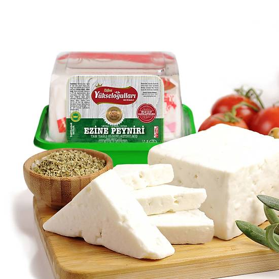 Ezine Tam Yaðlý Klasik Keçi Peyniri 1 KG