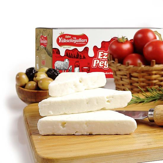 Ezine Tam Yaðlý Klasik Keçi Peyniri 5 KG