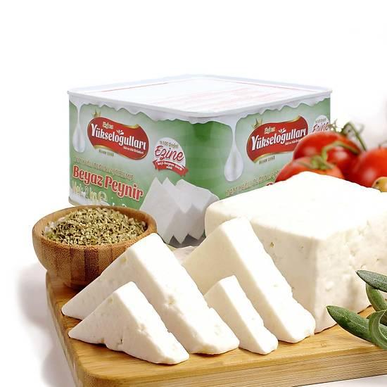 Ezine Tam Yaðlý Klasik Teneke Keçi Peyniri 2 KG