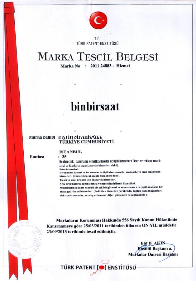 BinBirSaat Marka