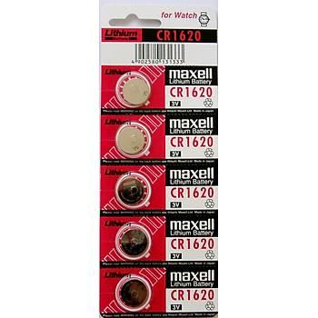 Maxell CR1620 Lithium 5 li Pil