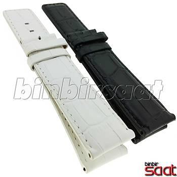 Hakiki Deri Saat Kordonu 2 Renk Seçenekli BBS-SB1 24mm