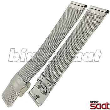 HS-03 Ýnce Hasýr Çelik Saat Kordonu - 16-18-20-22-24 mm