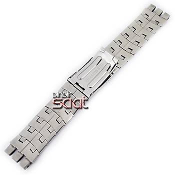 M24-SWC-M6 Swatch Uyumlu Çelik Saat Kordonu 23mm