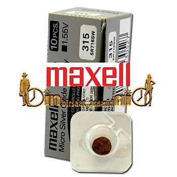 MAXELL 315 SR716SW 10 LU Saat Pili