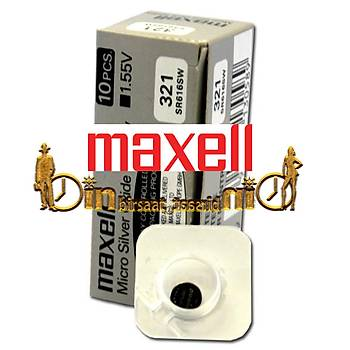 MAXELL 321 SR616SW 10 LU Saat Pili