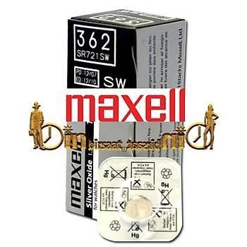 MAXELL 362 SR721SW 10 LU Saat Pili